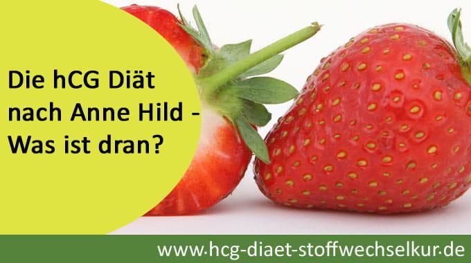 Die hCG Diät nach Anne Hild - Was ist dran